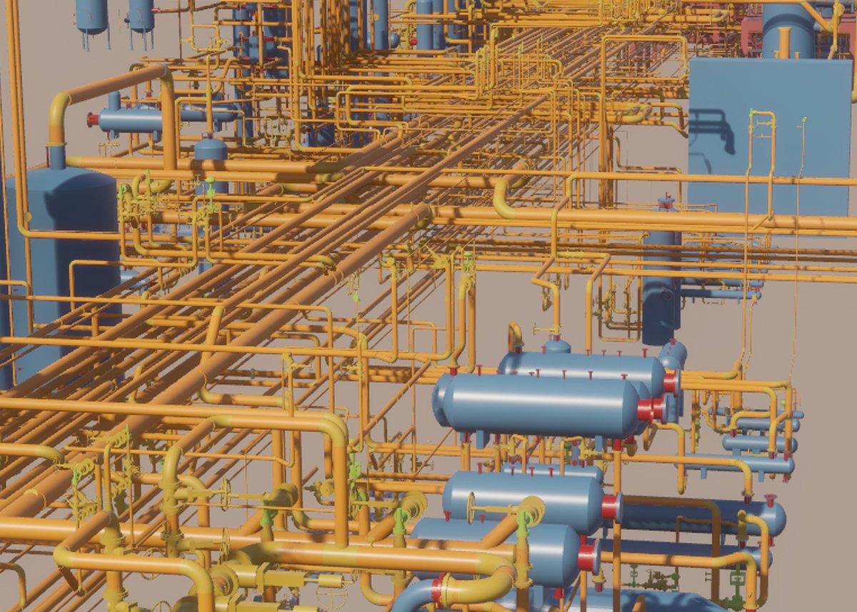 Progetto virtuale di impianti industriali
