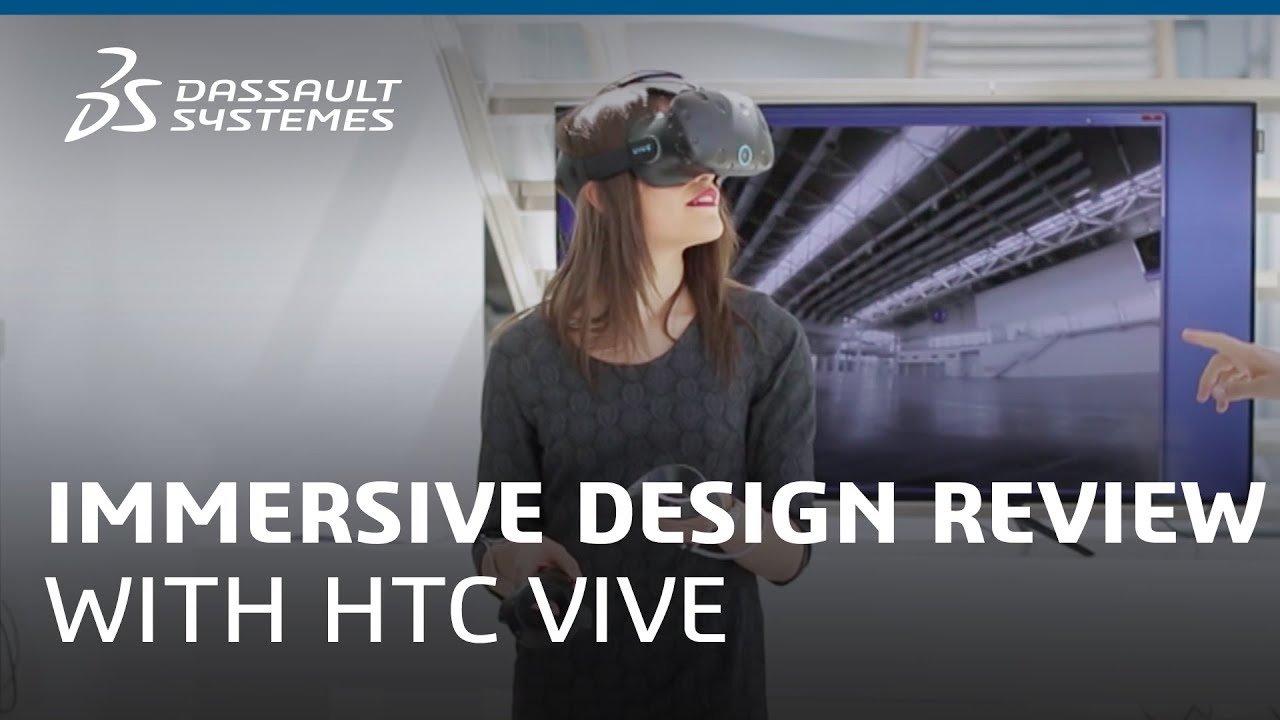 Realtà virtuale su 3DEXPERIENCE Platform™ di Dassault Systèmes