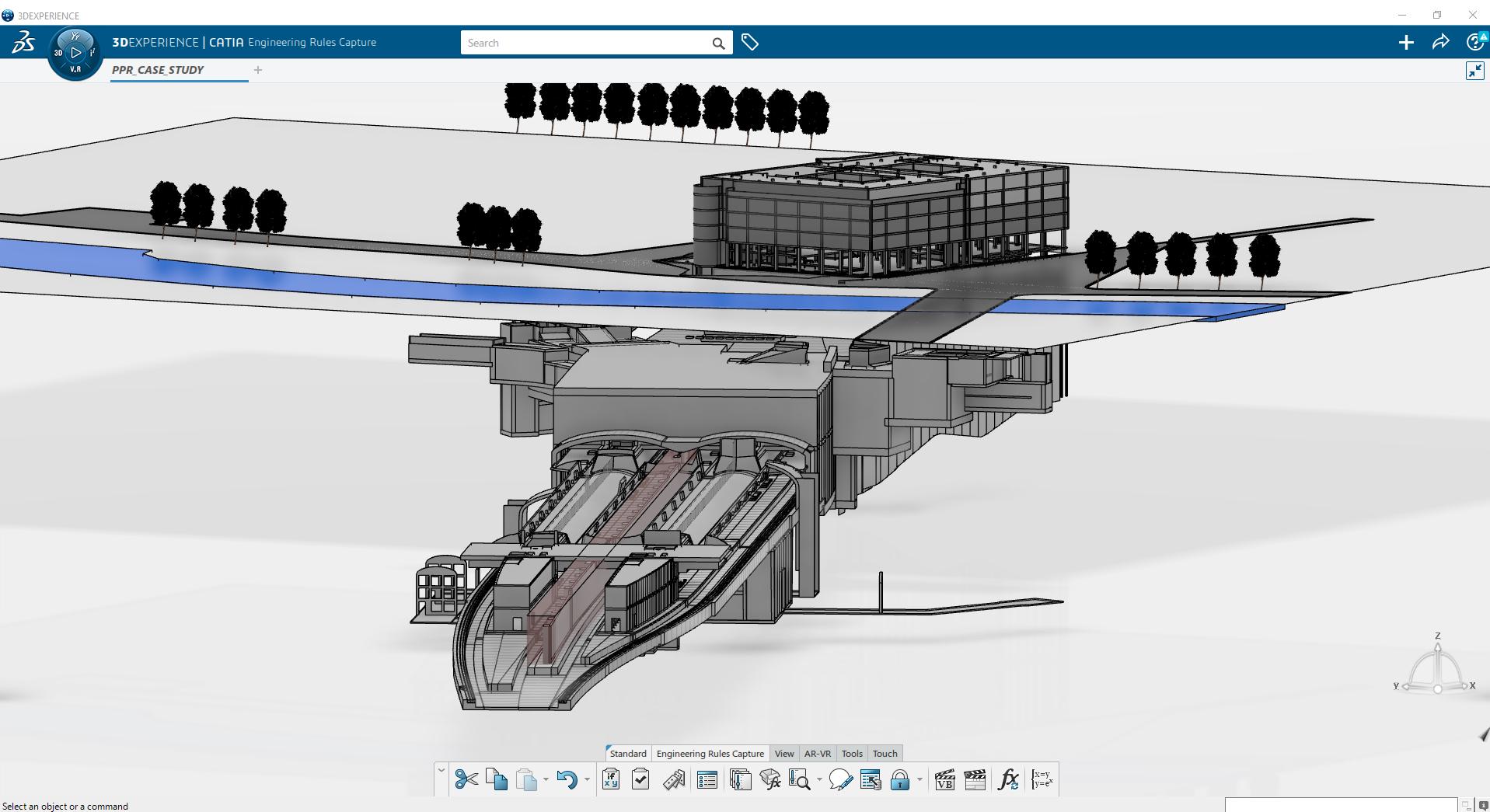 Un progetto su 3DEXPERIENCE Platform™ di Dassault Systèmes